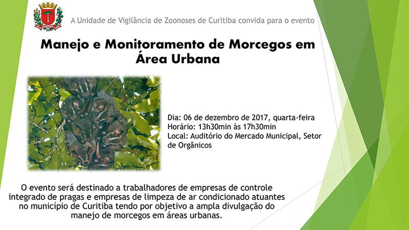 Manejo e Monitoramento de Morcegos em Áreas Urbanas